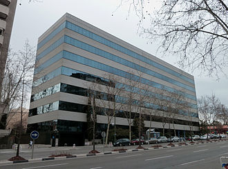 Ferrovial - Ferrovial head office, in Chamartín, Madrid