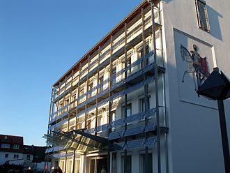 Edingen-Neckarhausen - City Hall in Edingen