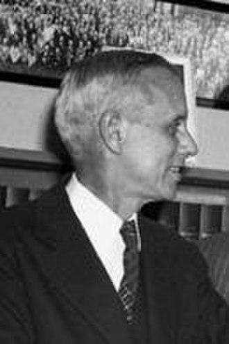 Edmund Ware Sinnott - 1947 at the AAAS