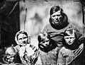 Edward Augustus Inglefield photograph of European family Greenland 1854.jpg