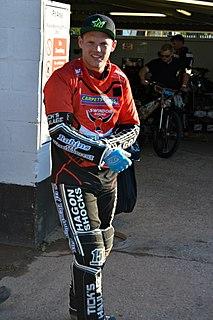 Edward Kennett British speedway rider