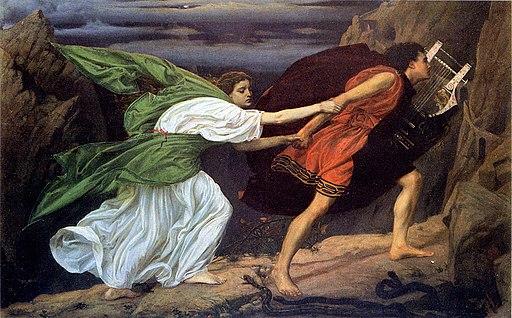 Edward Poynter - Orpheus and Eurydice