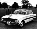 Edward Pritchard with his steam-powered Ford Falcon in 1974.png