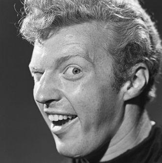 Wink - Dutch comedian André van Duin performing a single wink