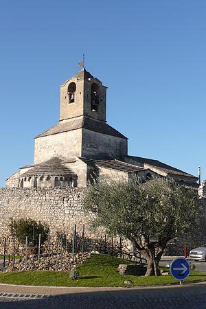 Baudilus - Image: Eglise Sainte Baudile Noves