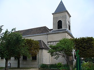 Alexandre-Théodore Brongniart - Church of Romainville, designed by Brongniart
