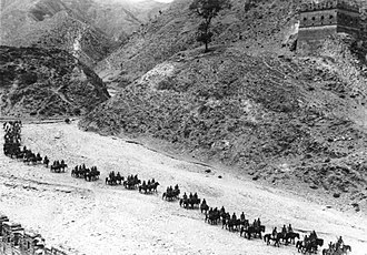 Sha Fei - Sha Fei's photo of the Eighth Route Army cavalry in 1937
