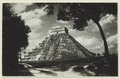 El Castillo , den centrala pyramiden - SMVK - 0307.f.0010.tif