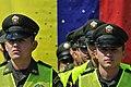 El Gobierno Nacional hace entrega de mil uniformados a la Policia Metropolitana de Cali, en cumplimiento de la politica de seguridad ciudadana (8338310919).jpg