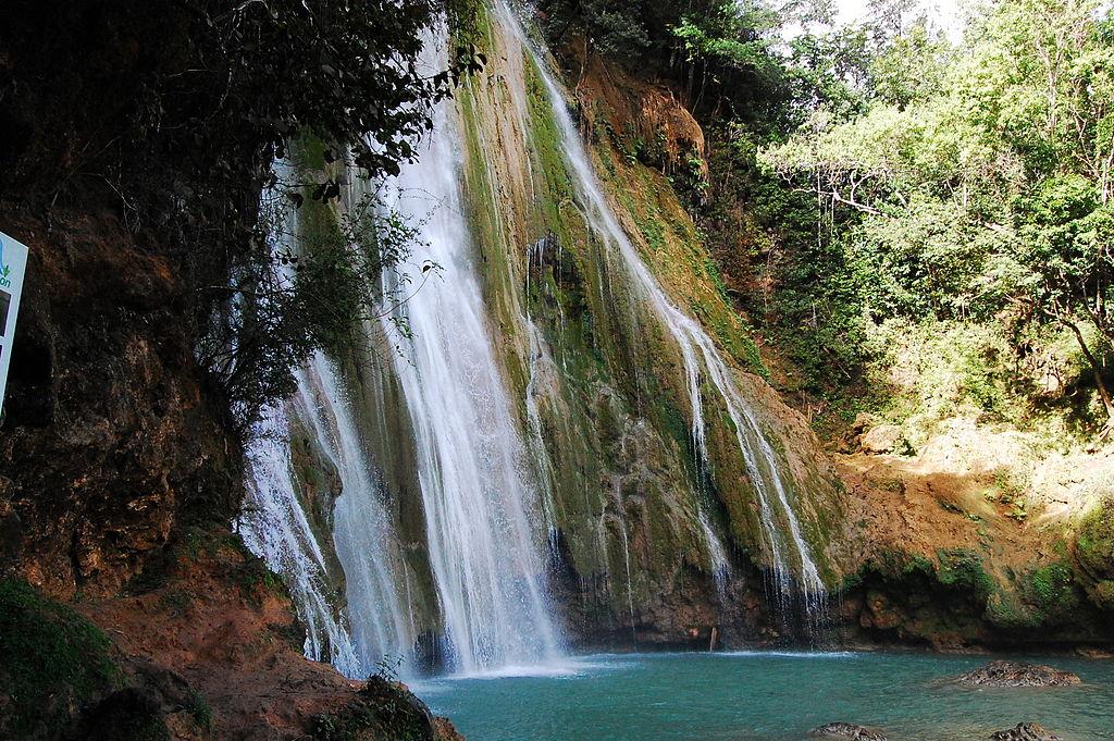 Najwyższy wodospad Dominikany - El Limón