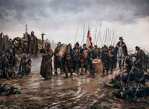Battle of Empel - El milagro de Empel, by Augusto Ferrer-Dalmau (2015).