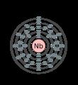 Electron shell 041 niobium.png