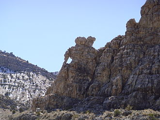 Kings Canyon (Millard County, Utah) - Elephant Rock, March 2009