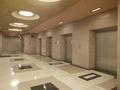 Elevator lobby, Robert N.C. Nix Federal Building, Philadelphia, Pennsylvania LCCN2010718965.tif