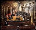 Elia naurizio, congregazione generale del concilio di trento in s.m. maggiore, 1633, 01.jpg