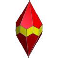 Elonagated hexagonal trapezohedron.png