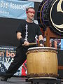 Emeryville Taiko performing at 2008 SFIDBF 03.JPG