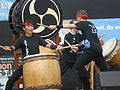 Emeryville Taiko performing at 2008 SFIDBF 12.JPG