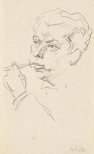 Turandot Suite - Max Reinhardt by Emil Orlik