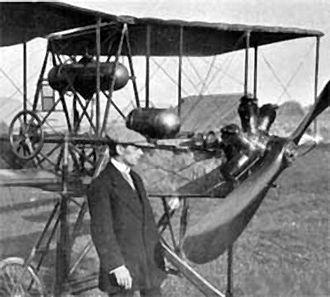 Dufaux 4 - Emile Taddéoli and his Dufaux 4, 1910