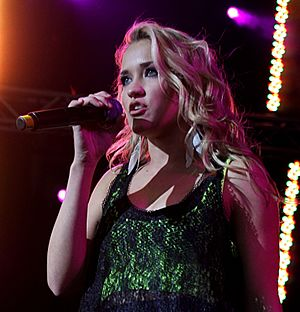 Emily Osment - Osment performing live on  May 22, 2010