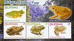 Endemic frogs 2011 stampsheet of the Philippines 2.jpg