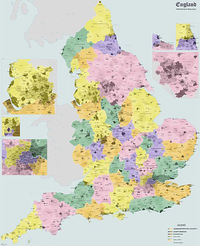 Map Of Uk 1500.History Of Local Government In England Wikipedia