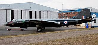 No. 617 Squadron RAF - No. 617 Sqn Canberra B2