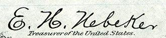 Enos H. Nebecker - Image: Enos H. Nebeker (Engraved Signature)