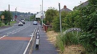 Havercroft village in Wakefield, West Yorkshire