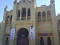 Entrada principal a la plaza de toros de Albacete.JPG