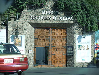 Entrance Museo Dolores Olmedo 2011
