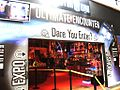 Entrance to Doctor Who Exhibition, Red Dragon Centre.jpg