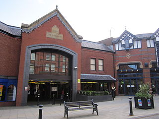 The Galleries (Wigan) Shopping complex in Wigan town centre, England