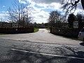 Entrance to Upfront. - geograph.org.uk - 143788.jpg