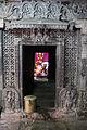 Entrance to sanctum in Kalleshvara temple at Bagali.JPG