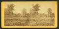 Erecting bridge across north fork of Rappahannock, near Sulphur Springs, Va, by O'Sullivan, Timothy H., 1840-1882.png