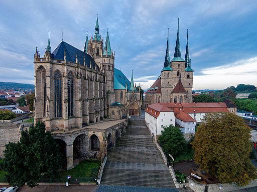 Erfurter Dom von Oben 01