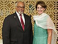 Eric Goosby with MaryKay Carlson - 2017.jpg