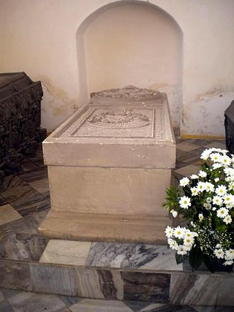 Eric of Pomerania - Eric's grave at St. Mary's in Darlowo