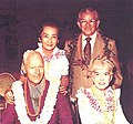 Ernest and Hazel Murai with Hawaii Governor John Burns and wife Beatrice.jpg
