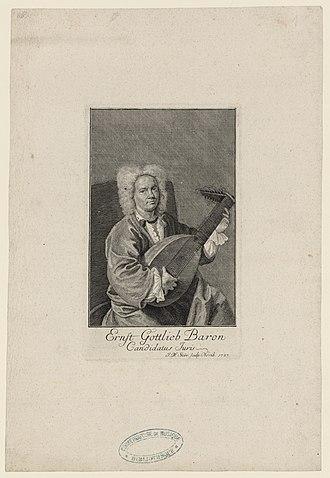 Ernst Gottlieb Baron - Ernst Gottlieb Baron