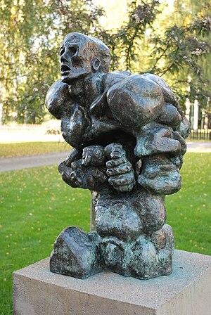 Soviet Nonconformist Art - Ernst Neizvestny. The Prophet. Sculpture Park, Uttersberg, Sweden