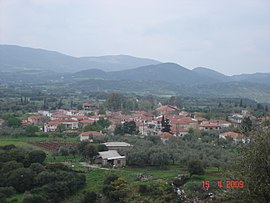 Erymantheia, a village of Tritaia
