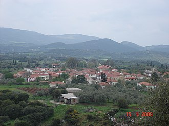 Tritaia - Erymantheia, a village of Tritaia