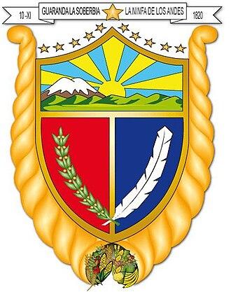 Guaranda - Image: Escudo gda