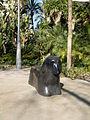 Escultura de gos al Parc Sant Jordi de Reus 1.JPG
