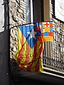 Espluga de Francolí. Catalonian flags - panoramio (3).jpg