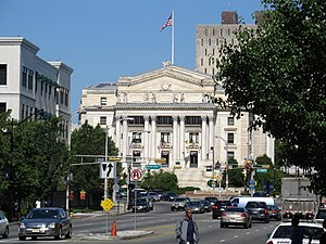 Essex County Courthouse in Downtown Newark