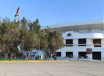 Estadio Nacional de Chile - Acceso norte